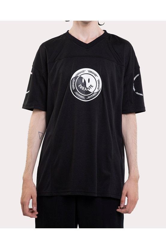 Camiseta M/C All City Negro Unisex Errante