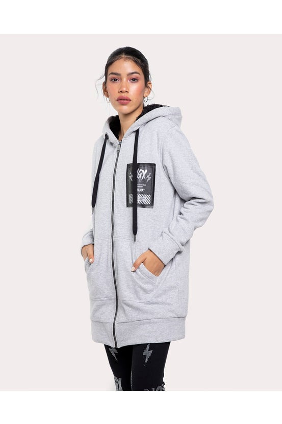 Chaqueta For Real Gris NGX