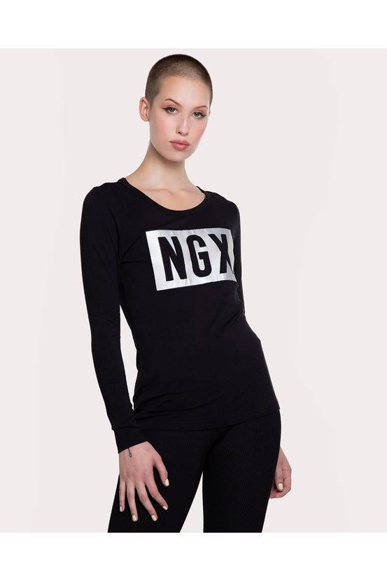 Polera M/L For Real Negro NGX