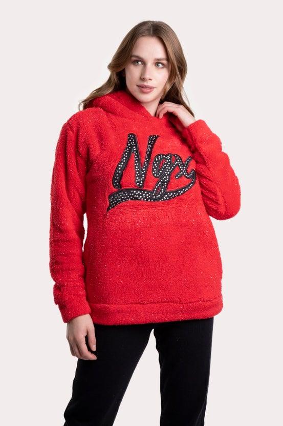 Poleron My Favorite Rojo NGX
