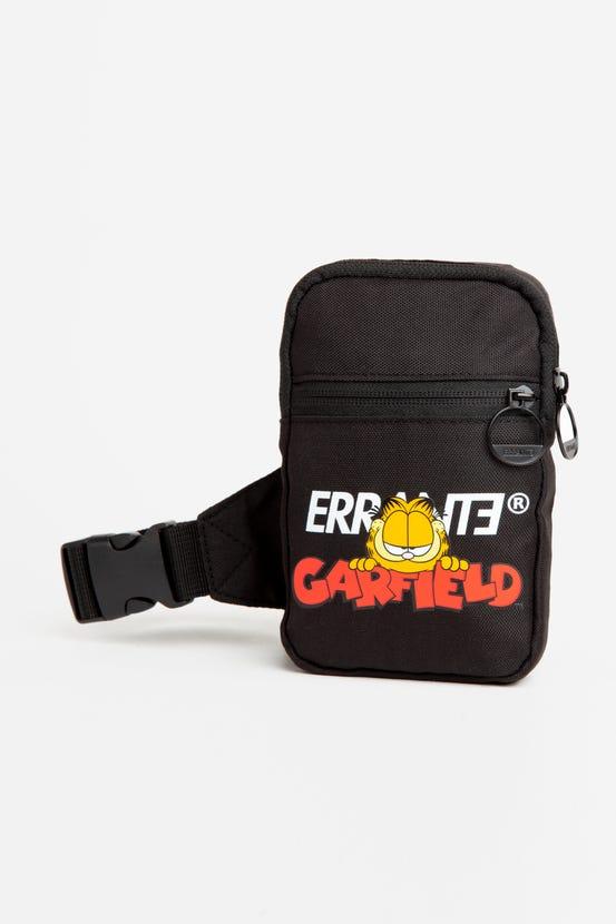 Crossbag Garfield Collab Negro Errante Unisex