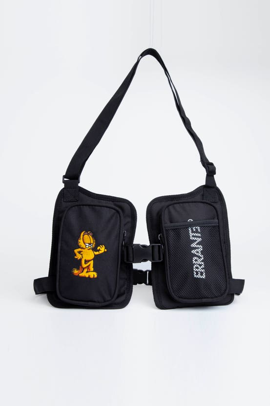 Crossbag Garfield Slant Negro Errante Unisex