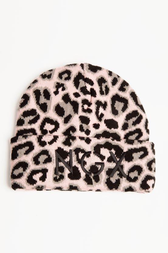 Gorro Leopard Malva NGX