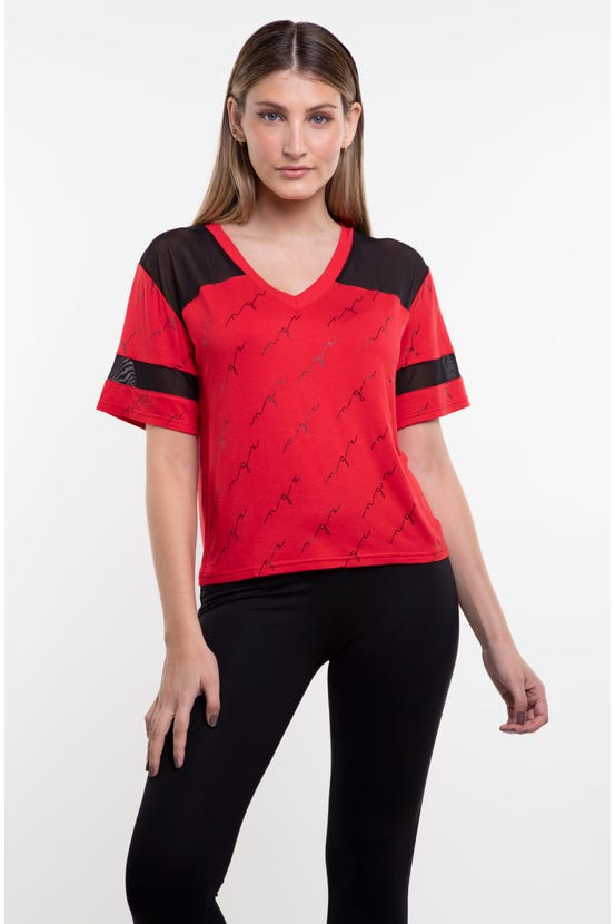 Polera M/C Submitted Two Rojo NGX