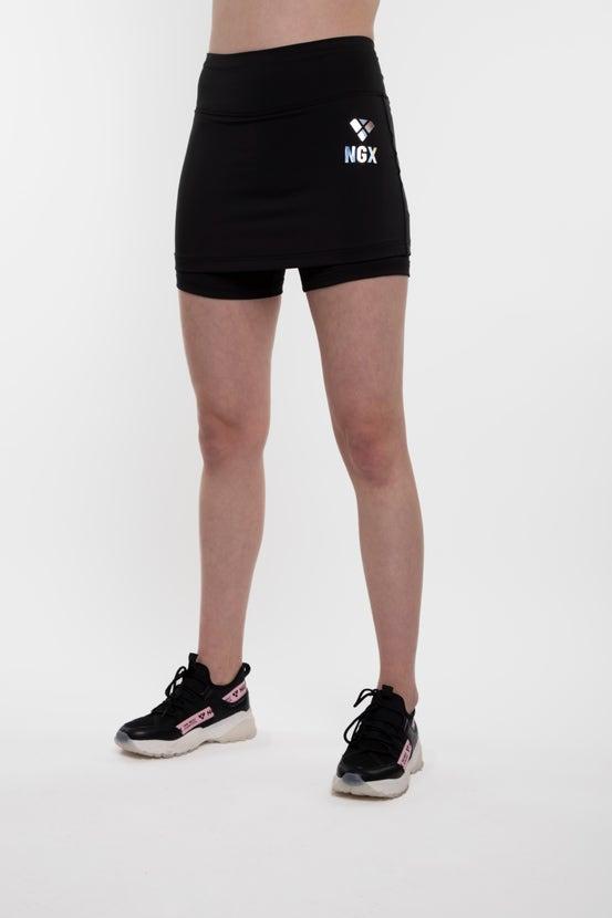 Legging Short Skirt Essential Negro NGX